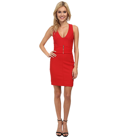 French Connection - Romeo Stretch Dress 71CSF (Royal Scarlet) Women
