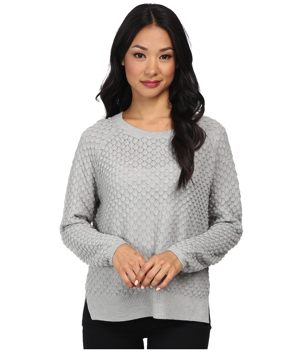 French Connection - Ella Knits 78CPA (Light Grey Mel) Women's Sweater