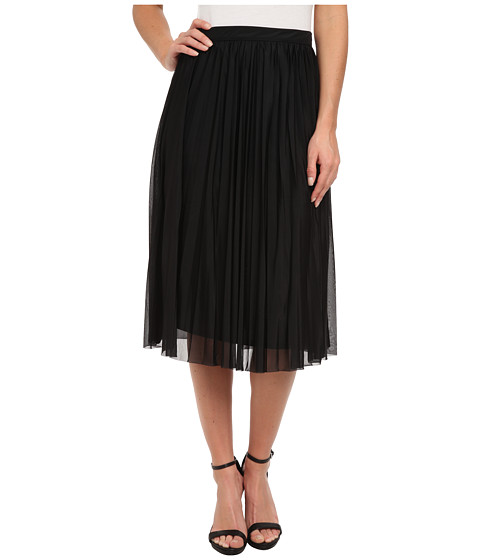 French Connection - Nightshade Pleats Skirt 73CPG (Black) Women's Skirt