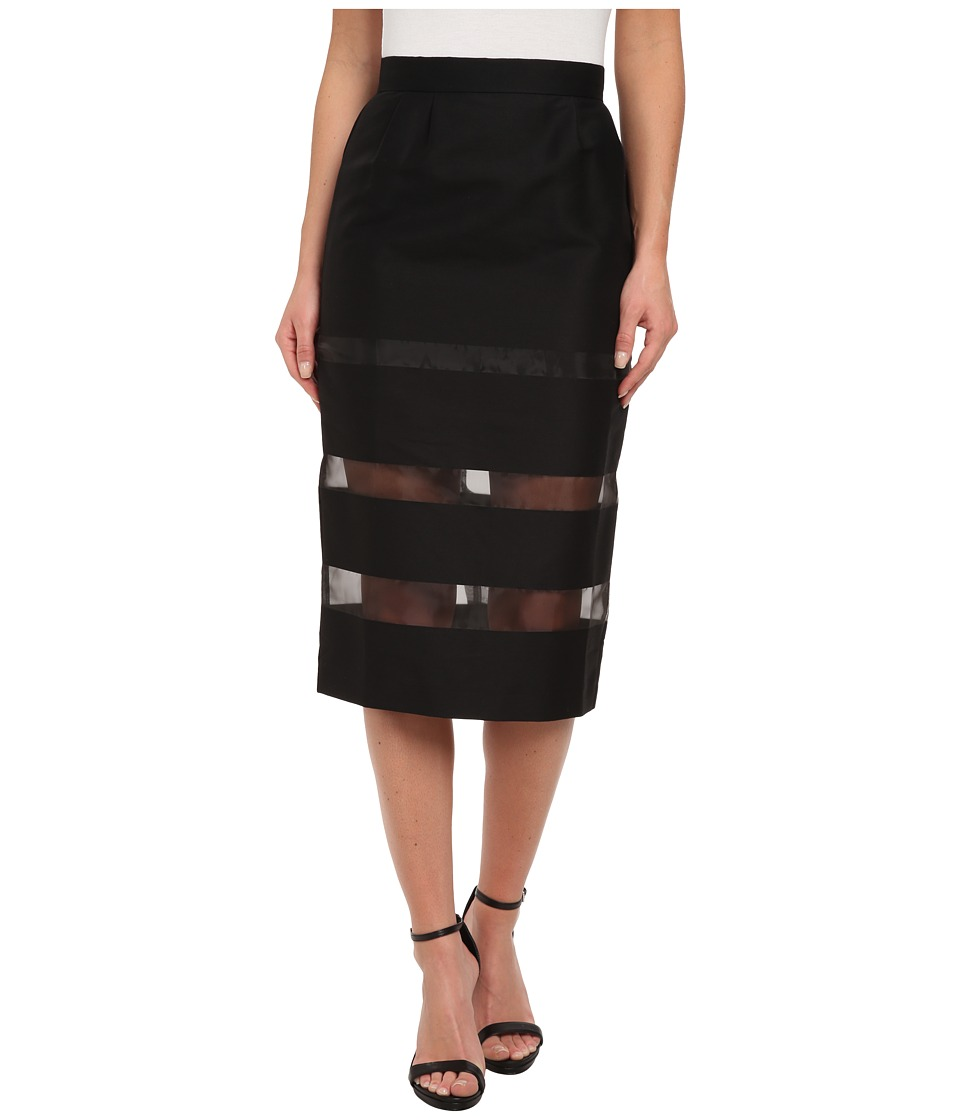 French Connection - Wind Jammer Skirt 73CPO (Black) Women's Skirt