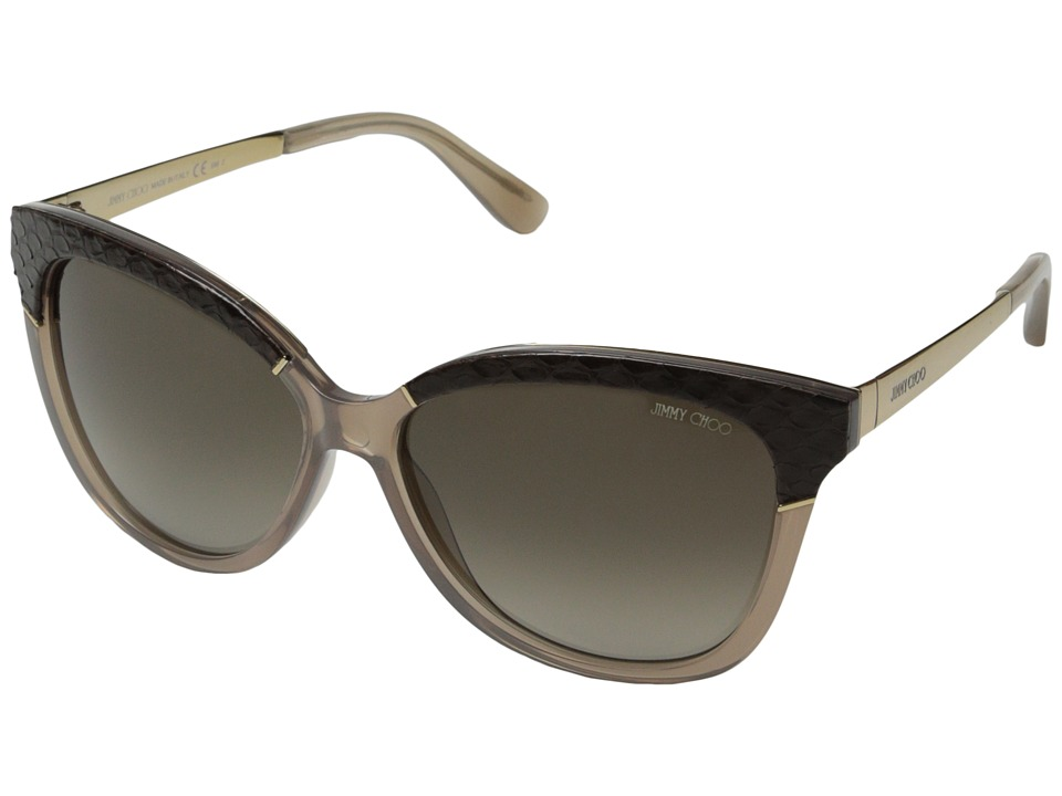 Jimmy Choo - Ines/S (Opal Mud/Brown Gradient) Fashion Sunglasses