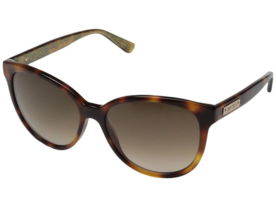 Jimmy Choo - Lucia/S (Havana/Brown Gradient) Fashion Sunglasses