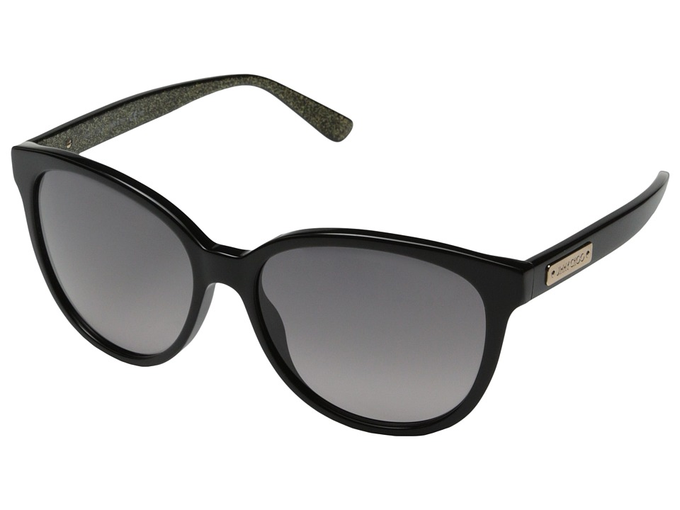 Jimmy Choo - Lucia/S (Black/Gray Gradient) Fashion Sunglasses
