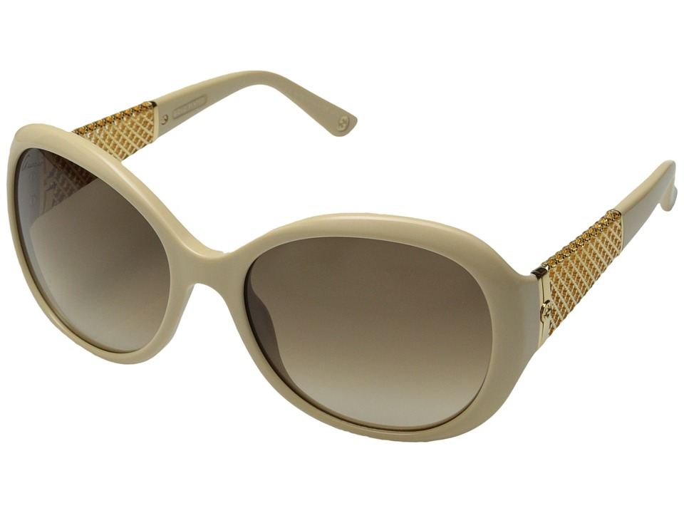 Gucci - GG 3693/S (Beige Gold/Brown Gradient) Fashion Sunglasses