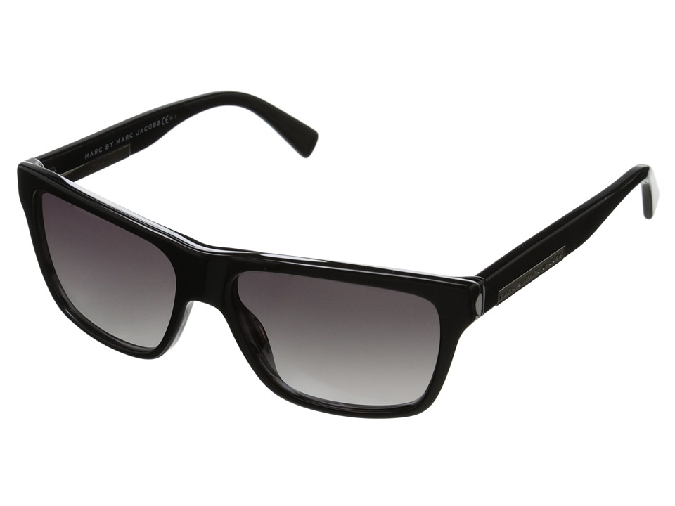 Marc by Marc Jacobs - MMJ 441/S (Black Stripe/Gray Gradient) Fashion Sunglasses