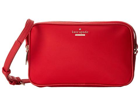 Kate Spade New York - Classic Nylon Kallie (Garnet) Cross Body Handbags