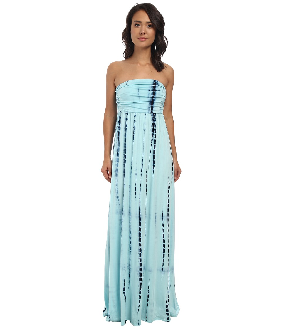Culture Phit - Hally Dress (Baby Blue Tie-Dye) Women's Dress