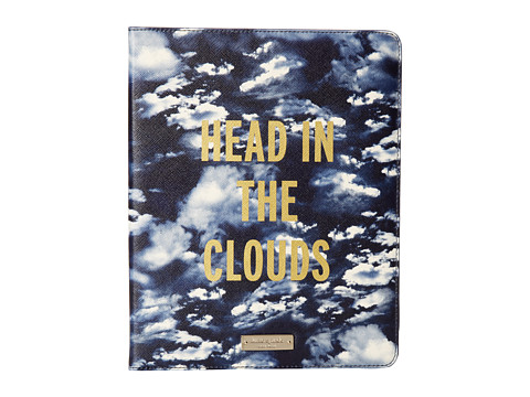 Kate Spade New York - Head In The Clouds iPad Folio (French Navy) Computer Bags
