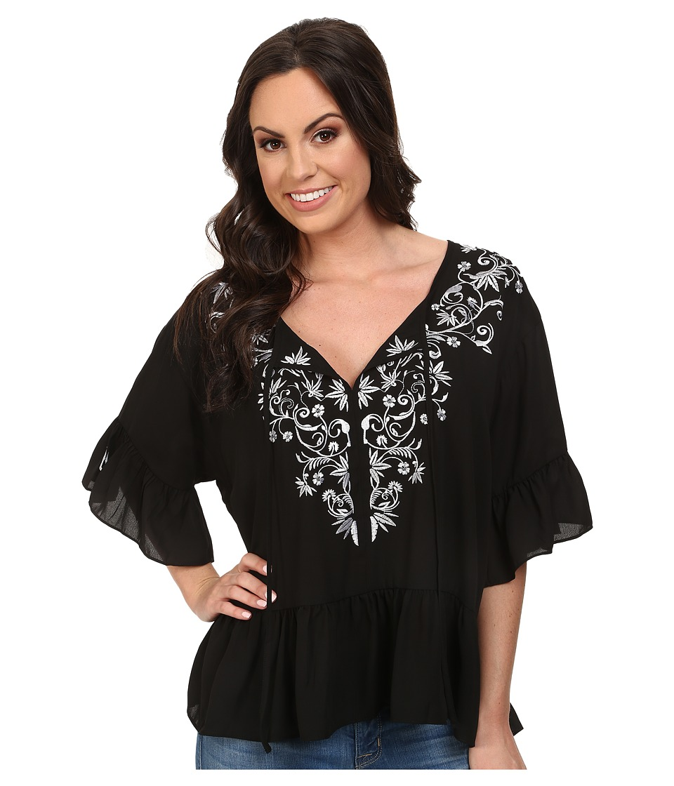 Ariat - Surry Top (Black) Women's Blouse