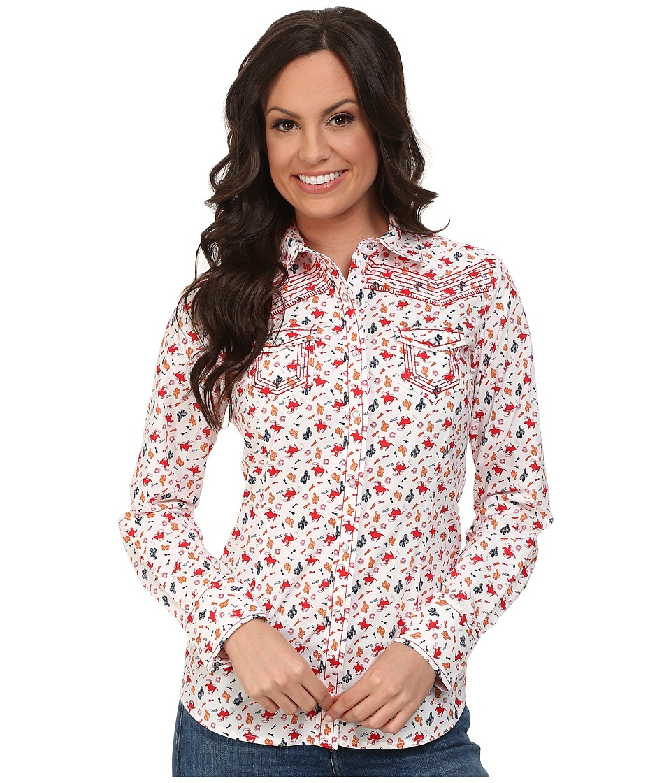 Ariat - Cactus Print Shirt (Multi) Women's Clothing