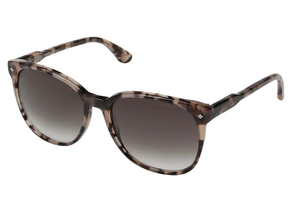 Bottega Veneta - BV 278/S (Havana Rose/Gray Gradient) Fashion Sunglasses