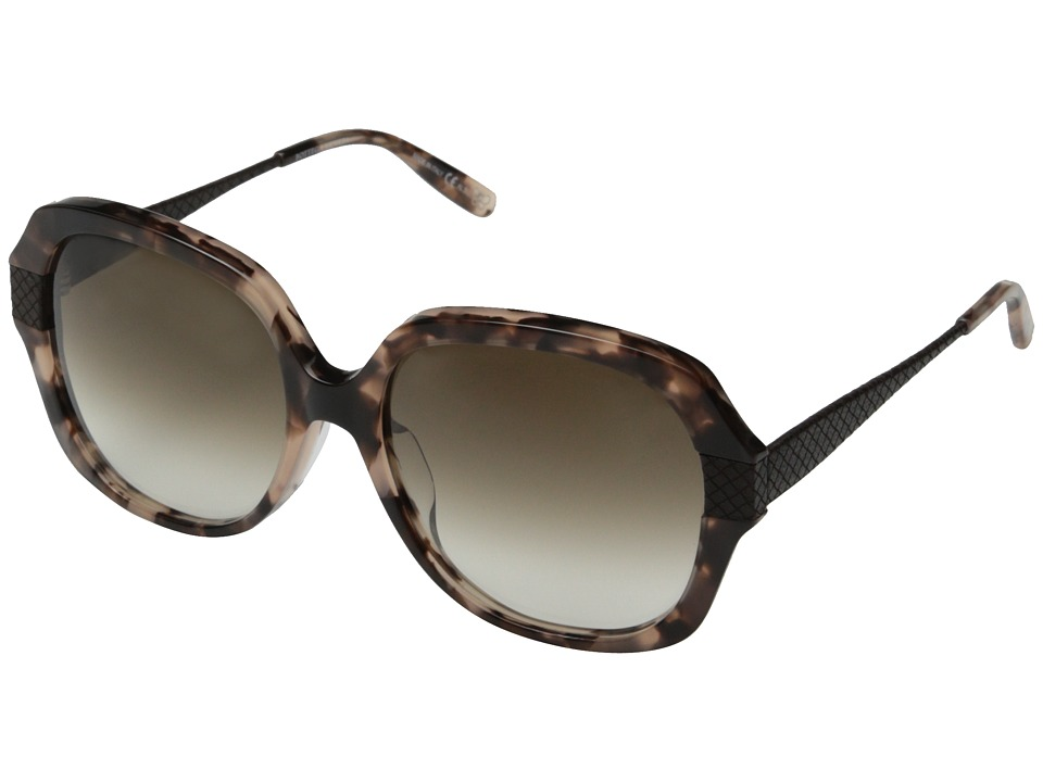 Bottega Veneta - BV 289/F/S (Havana Brown/Brown Gradient) Fashion Sunglasses