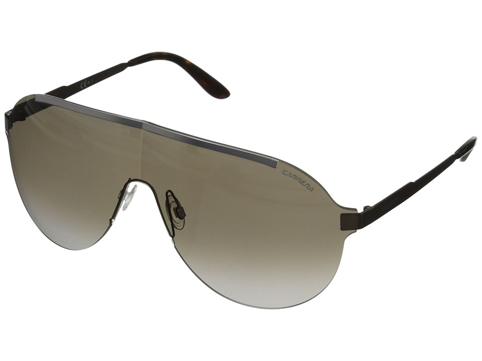 Carrera - Carrera 92/S (Ruthenium Brown/Brown Gradient) Fashion Sunglasses