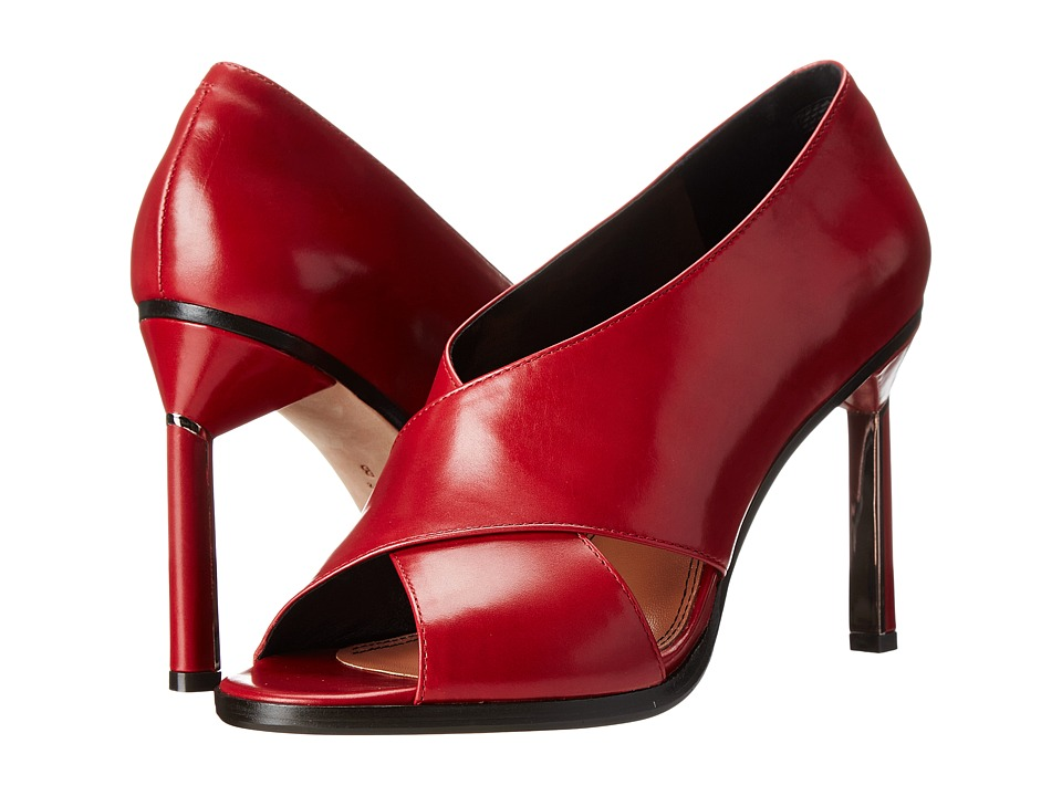 Derek Lam Trey Rouge Shine Calf Womens Shoes