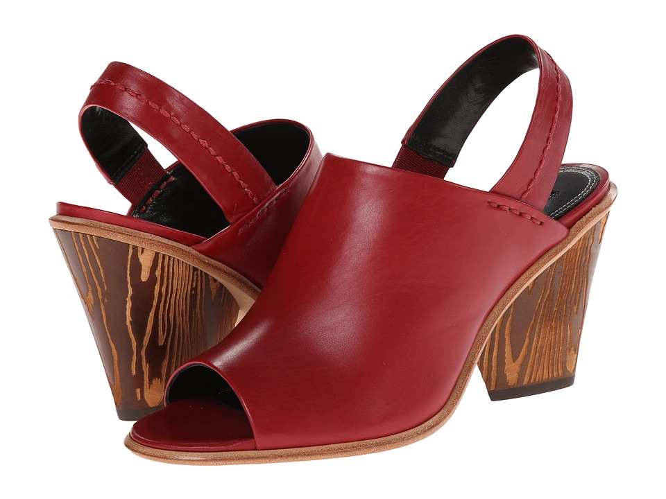 Derek Lam Billie Rouge Shine Calf Womens Shoes