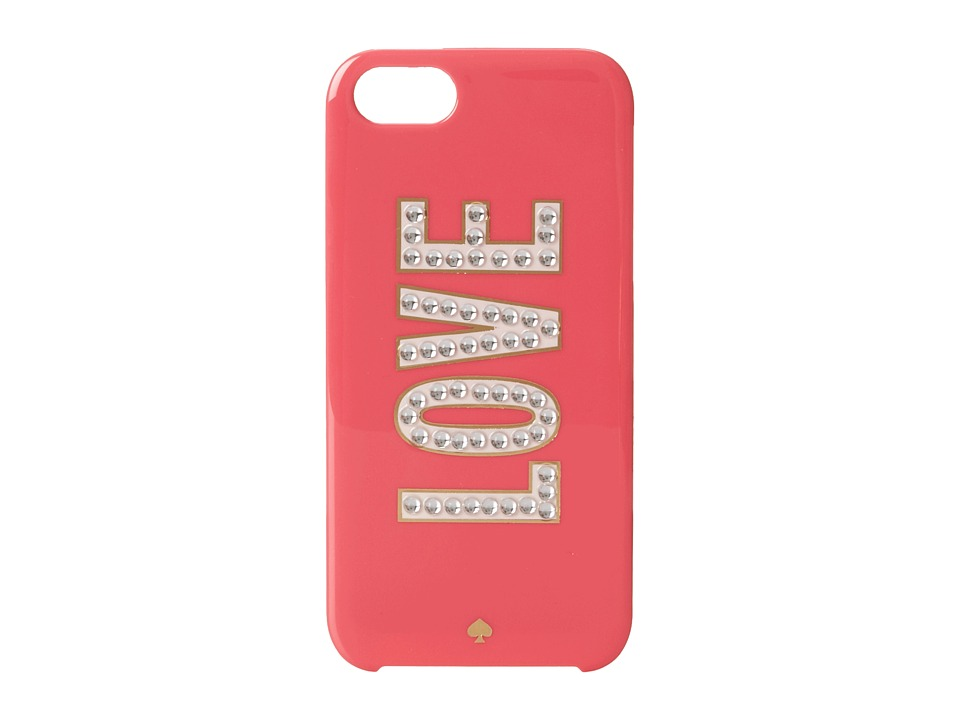 Kate Spade New York - Love Resin Phone Case for iPhone 5 and 5s (Deco Rose) Cell Phone Case