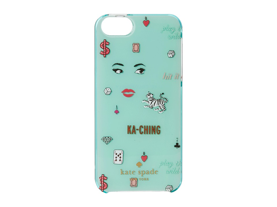 Kate Spade New York - Las Vegas Icon Print Resin Phone Case for iPhone 5 and 5s (Multi) Cell Phone Case