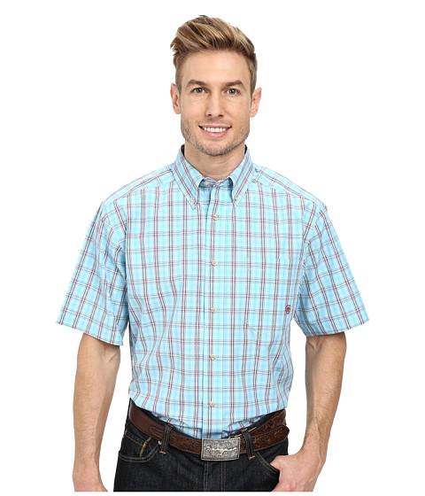 Ariat - Phelan S/S Shirt (Blue Mist) Men