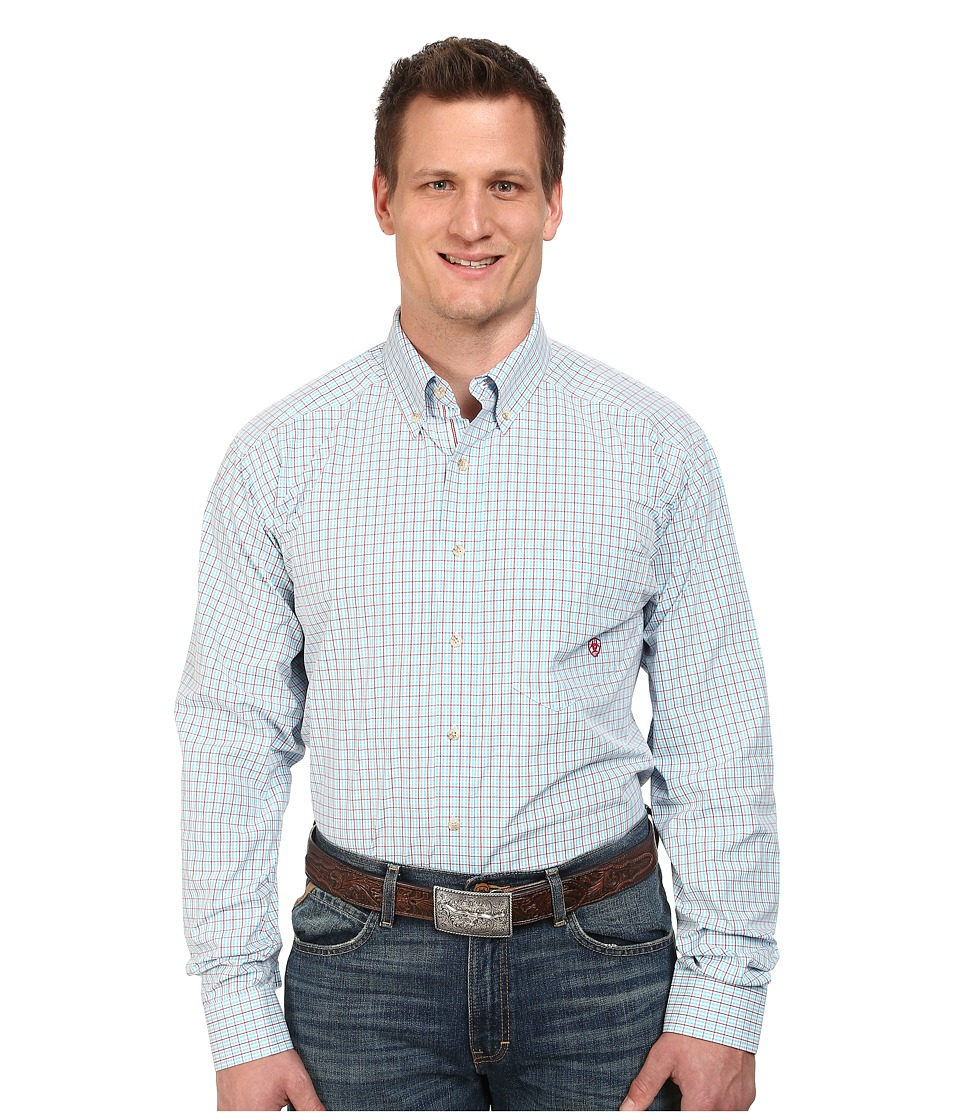 Ariat - Big Tall Phoenix Performance Shirt (Robins Egg Blue Multi) Men