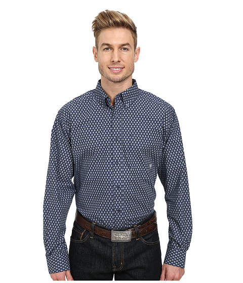 Ariat - Rowan Print Shirt (Evening Navy) Men