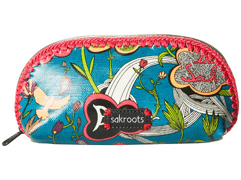 Sakroots - Artist Circle Small Dome Cosmetic (Azure Peace Print) Cosmetic Case