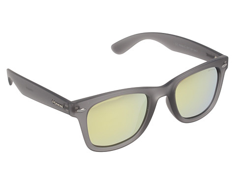 Polaroid Eyewear - P 8400/S (Gray Matte/Brown Flash Gold) Fashion Sunglasses