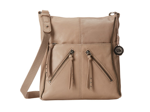 The Sak - Iris Crossbody (Shitake Zipper) Cross Body Handbags