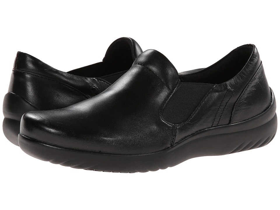 Klogs Footwear Geneva (Black Smooth) Women