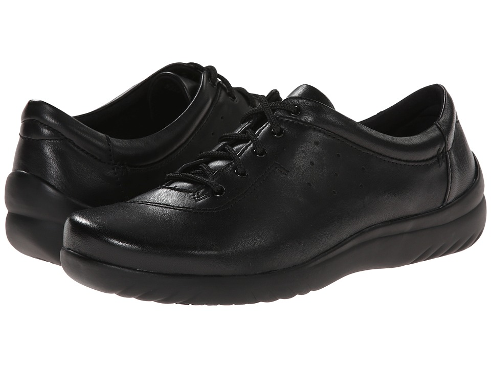 Klogs Footwear - Pisa (Black Smooth) Women's Lace up casual Shoes