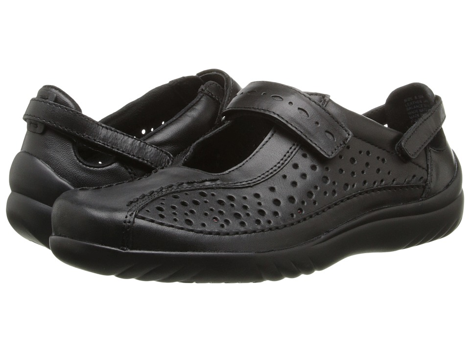 Klogs Footwear - Via (Black Smooth) Women's Shoes