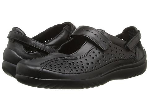Klogs - Via (Black Smooth) Women's Shoes