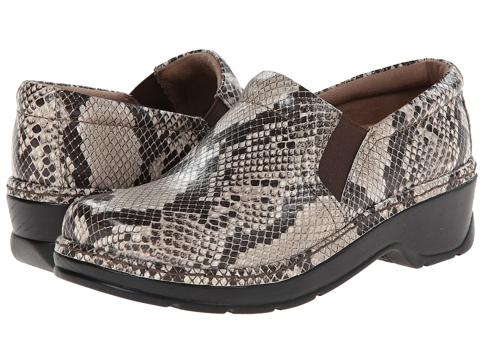 Klogs Footwear - Naples (Natural Snake) Women's Clog Shoes