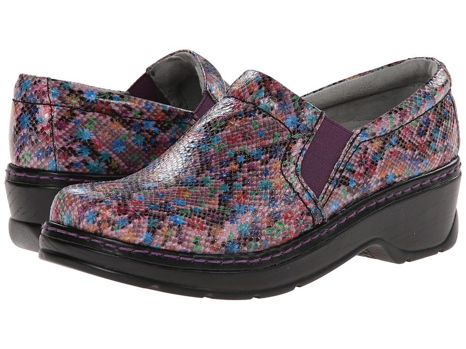 Klogs Footwear - Naples (Purple Ditzy) Women's Clog Shoes