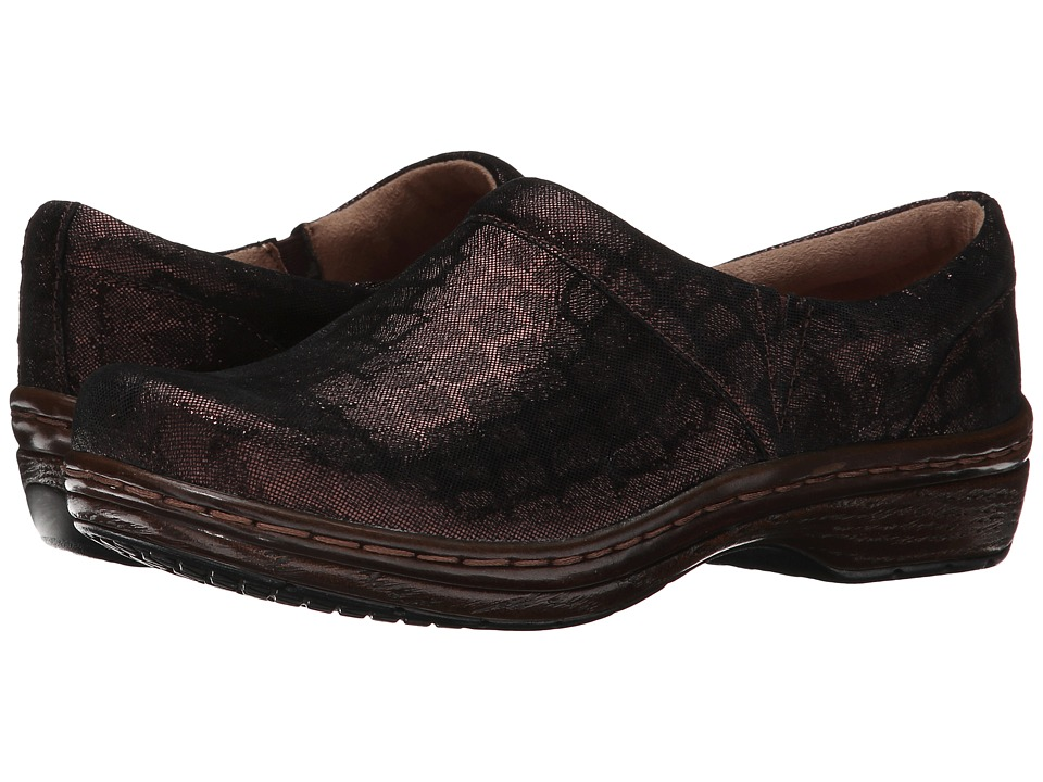 Klogs Footwear - Mission (Brown Croc) Women's Clog Shoes