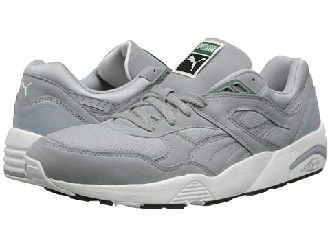 PUMA - Trinomic R698 (Quarry/White) Men