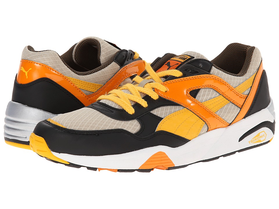 PUMA - Trinomic R698 Wildfire (Pale Khaki/Gold Fusion/Russet) Men's Classic Shoes