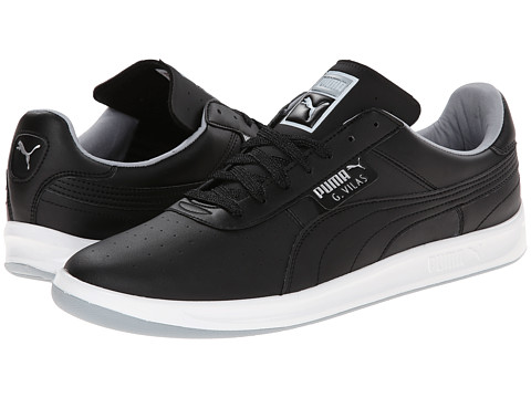 PUMA - G. Vilas L2 (Black/Quarry/Puma Silver) Men's Shoes