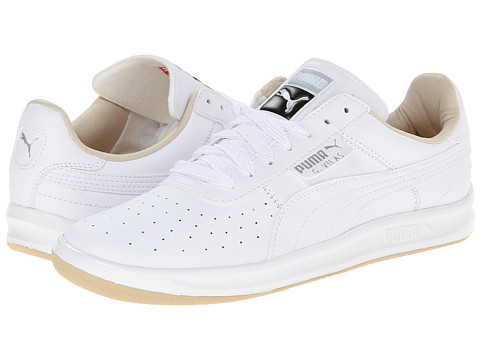 PUMA - G. Vilas L2 (White/Pale Khaki) Men's Shoes
