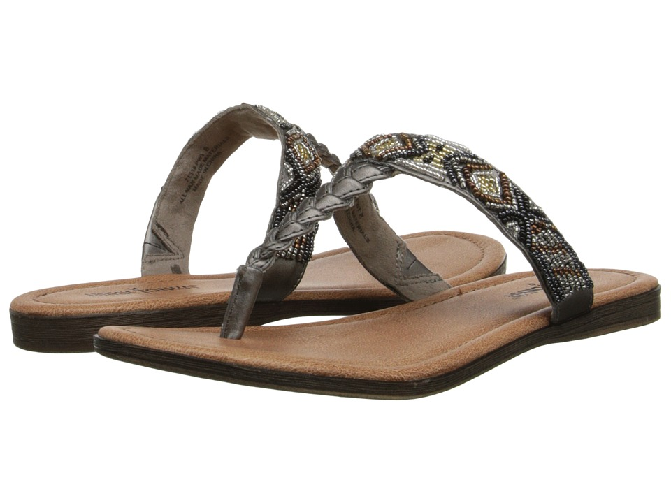 Minnetonka - Roatan (Pewter/Neutral Metallic Beads) Women's Sandals