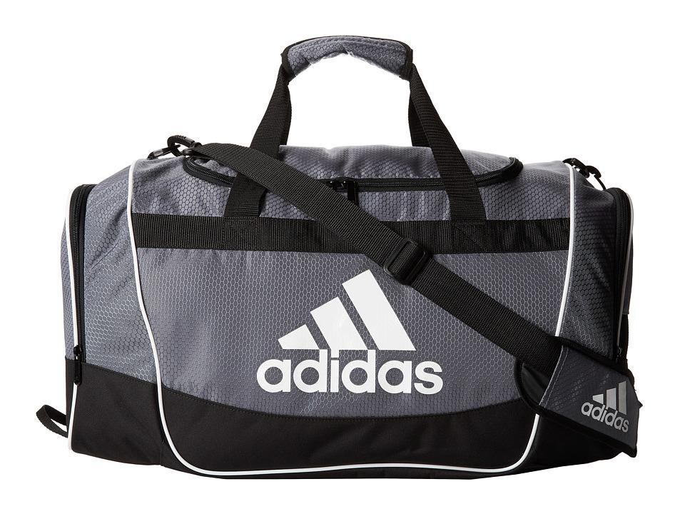 adidas - Defender II Duffel Medium (Onix) Duffel Bags