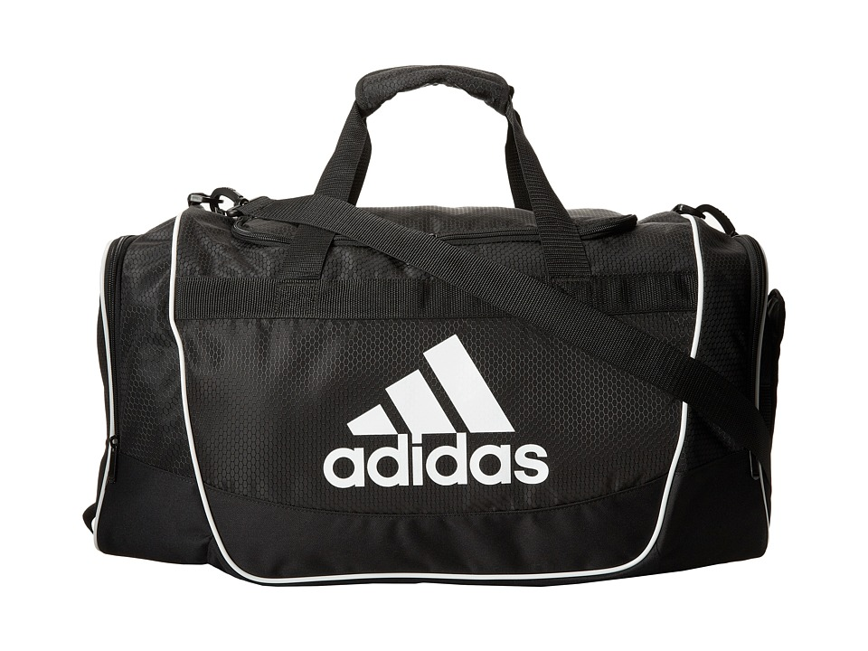 adidas - Defender II Duffel Medium (Black) Duffel Bags