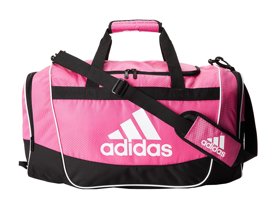 87be05ac85 ... UPC 716106732270 product image for adidas - Defender II Duffel Medium  (Intense Pink) Duffel