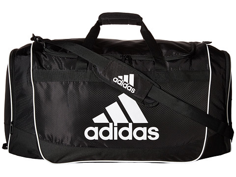 adidas - Defender II Duffel Large (Black) Duffel Bags