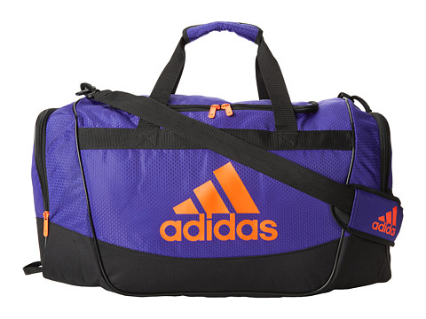 adidas - Defender II Duffel Medium (Night Flash/Solar Red) Duffel Bags