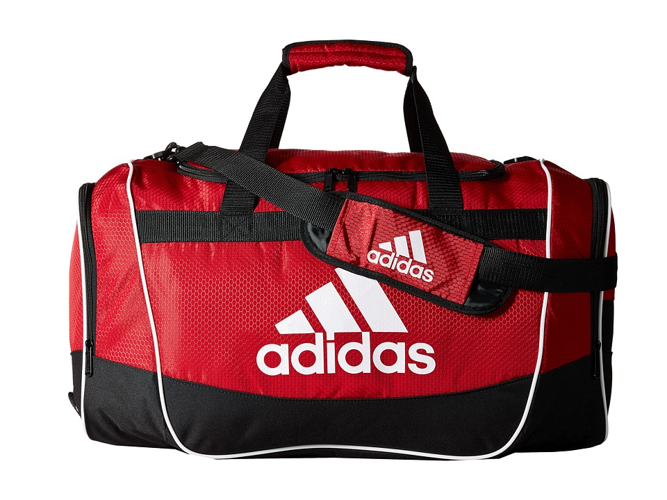 adidas - Defender II Duffel Medium (University Red) Duffel Bags