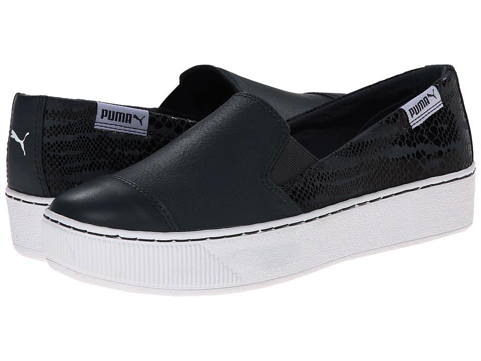 PUMA - PC Extreme S/O Animal (Turbulence/Black/White) Women's Slip on Shoes