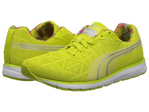 PUMA - Narita v2 (Sulphur Spring/Puma Silver) Women's Running Shoes