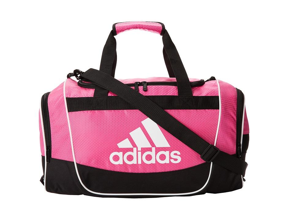 adidas - Defender II Duffel Small (Intense Pink) Duffel Bags