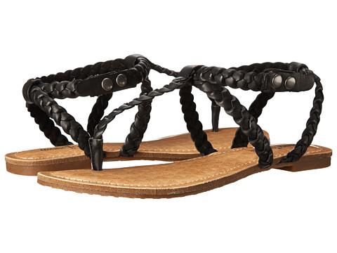 Minnetonka - Liberty (Black) Women's Sandals