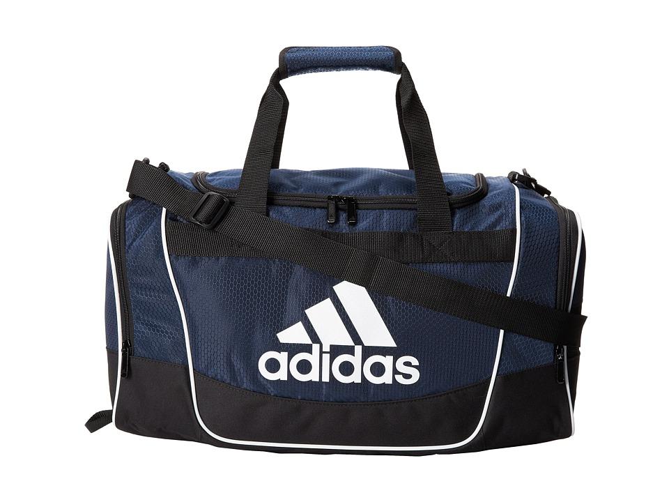adidas - Defender II Duffel Small (Collegiate Navy) Duffel Bags
